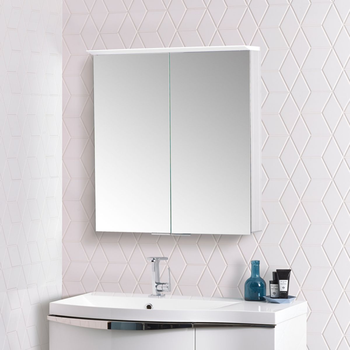 Roper Rhodes Venture Illuminated Bathroom Cabinet : UK Bathrooms