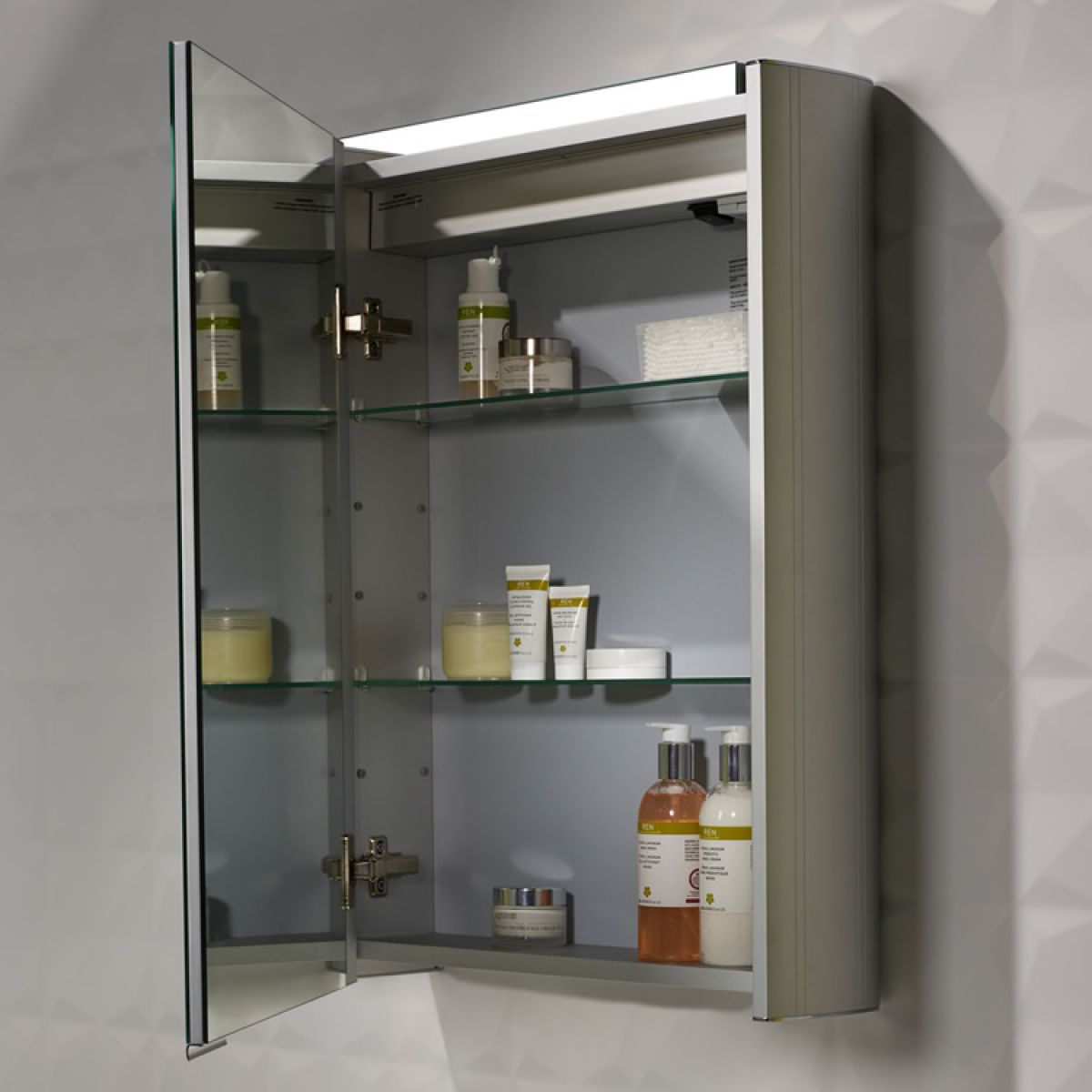 Roper Rhodes Touch Illuminated Bathroom Cabinet : UK Bathrooms