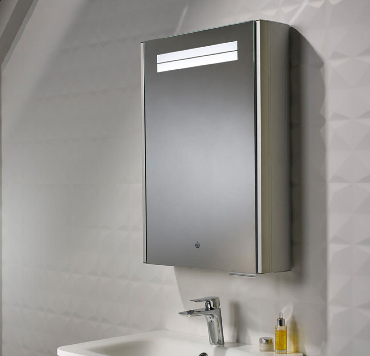 roper rhodes touch illuminated bathroom cabinet uk bathrooms
