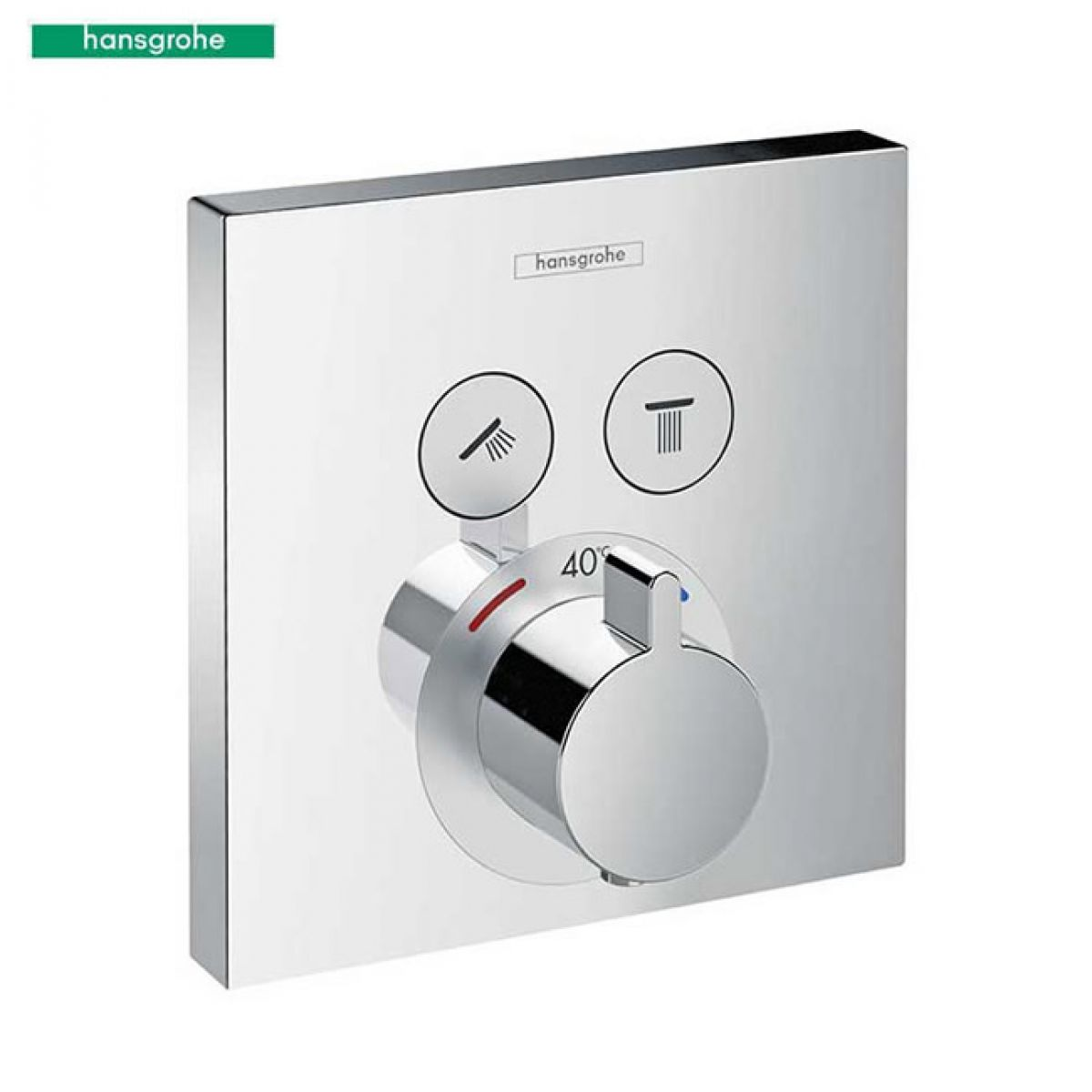 hansgrohe showerselect concealed thermostatic valve. Black Bedroom Furniture Sets. Home Design Ideas