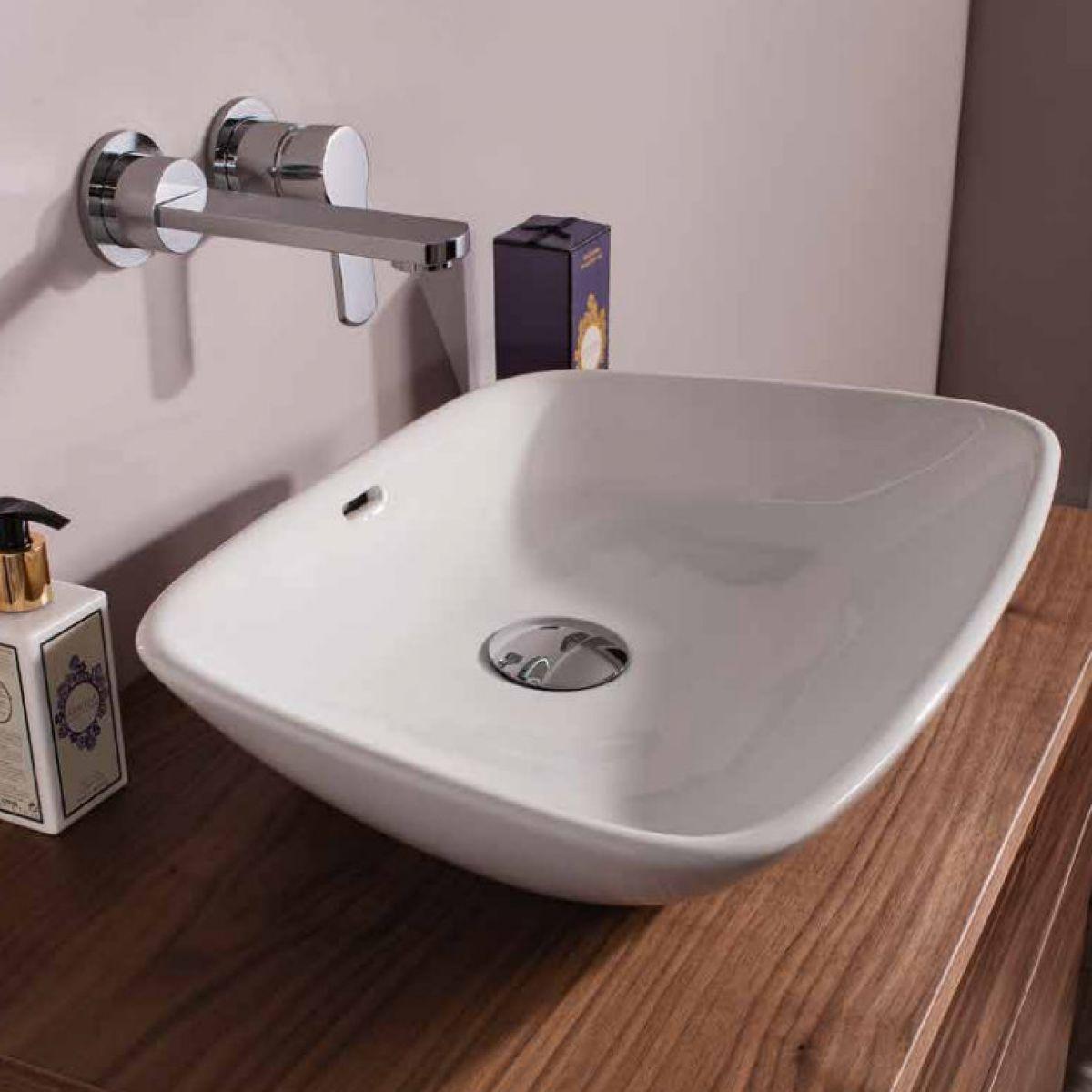 Bauhaus anabel countertop basin uk bathrooms for Bathroom basin