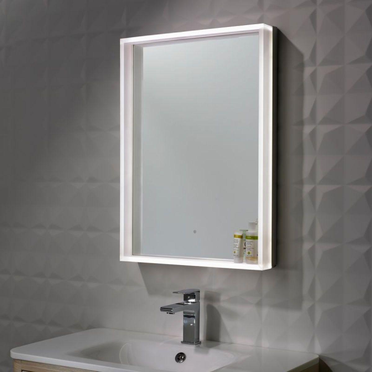 roper rhodes aura illuminated mirror uk bathrooms