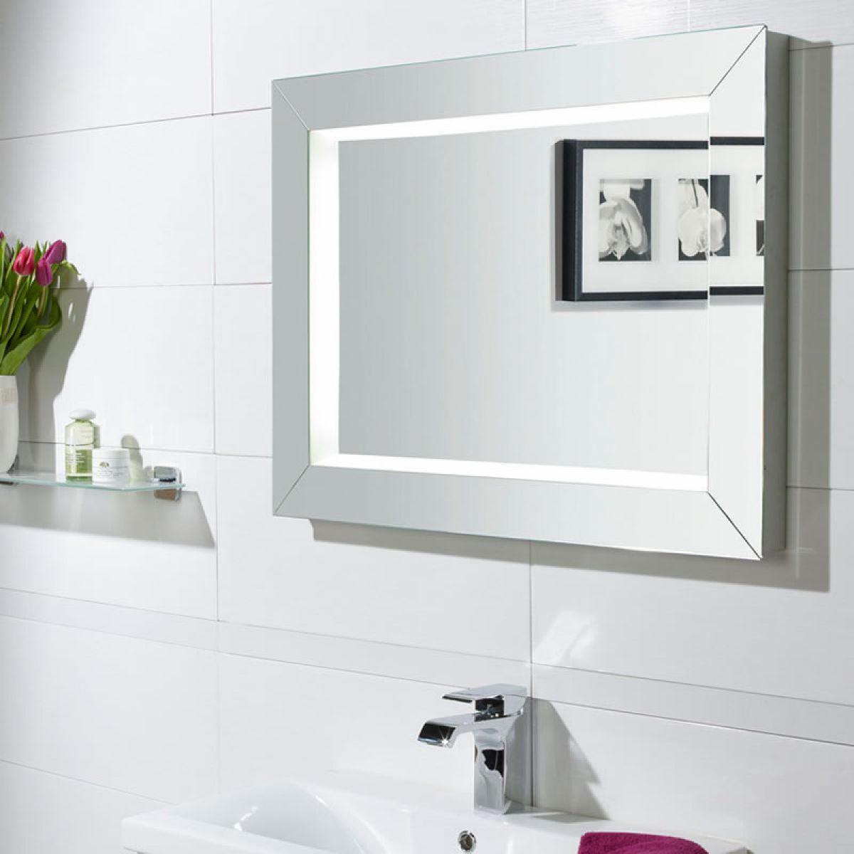 Roper Rhodes Sense Illuminated Bathroom Mirror Uk Bathrooms