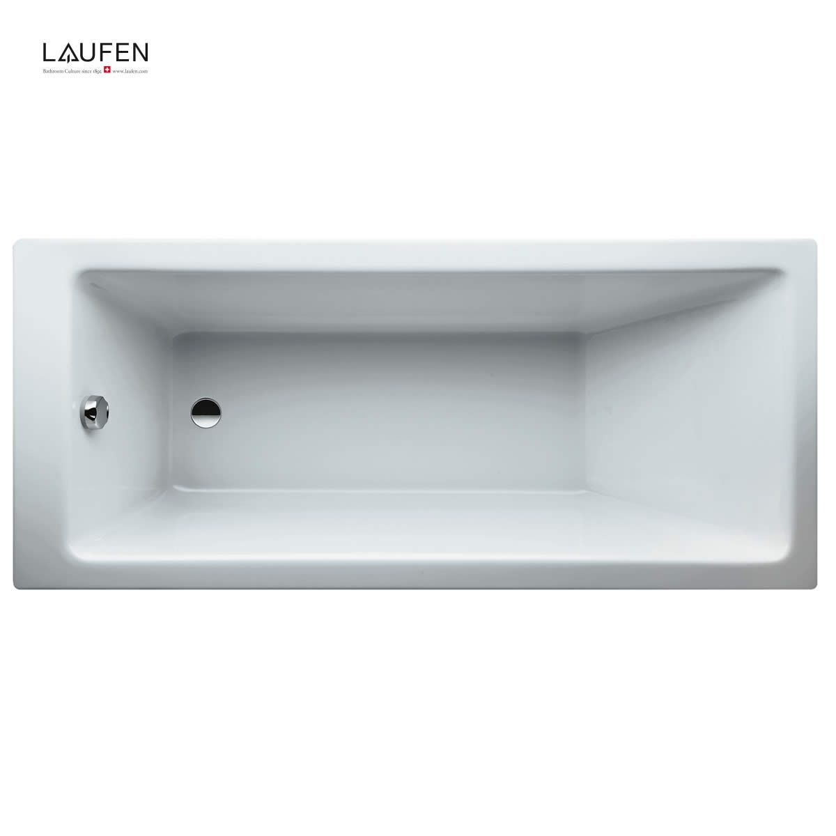Laufen Pro Rectangular Acrylic Single Ended Bath Uk