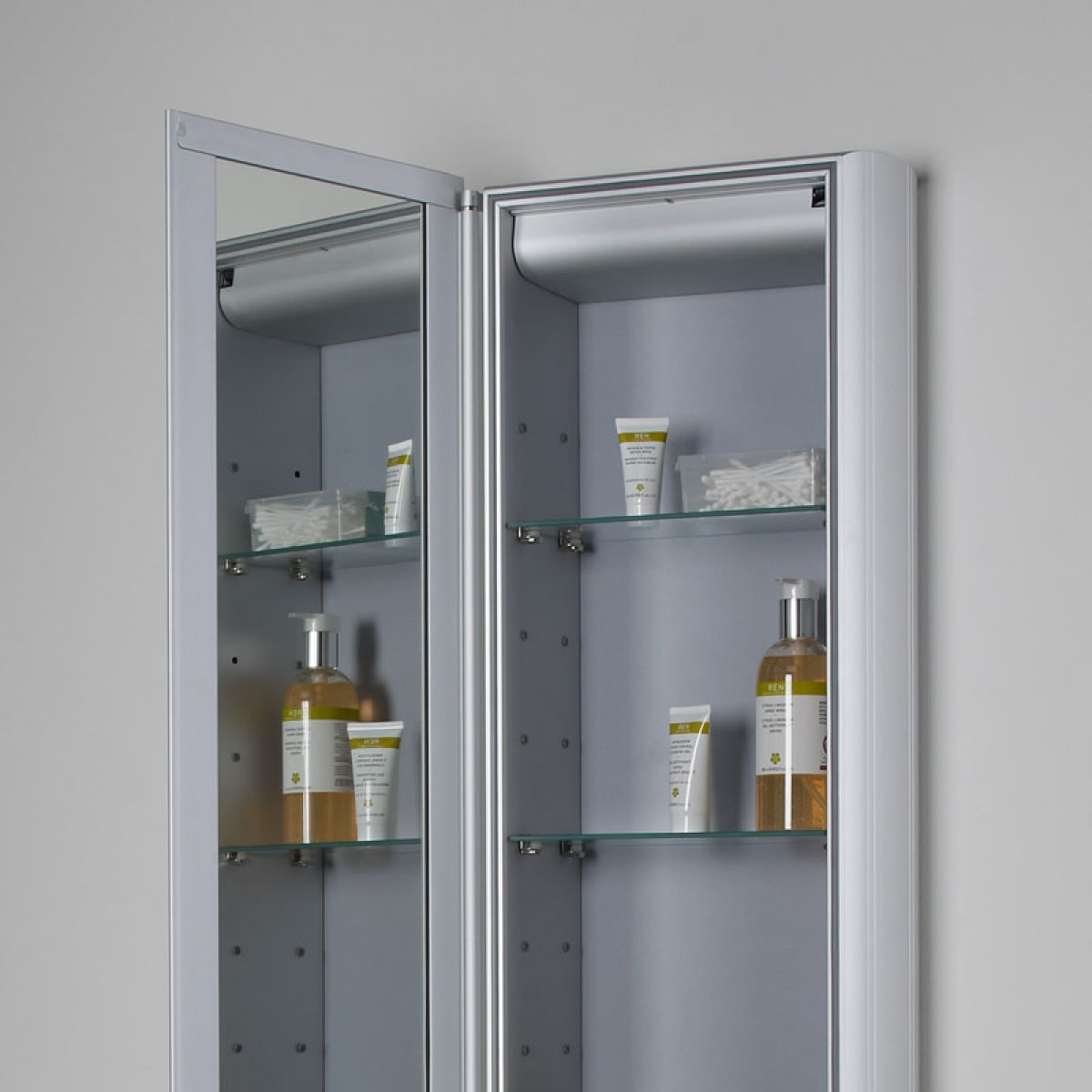 Roper Rhodes Reference Tall Mirror Glass Door Cabinet : UK Bathrooms