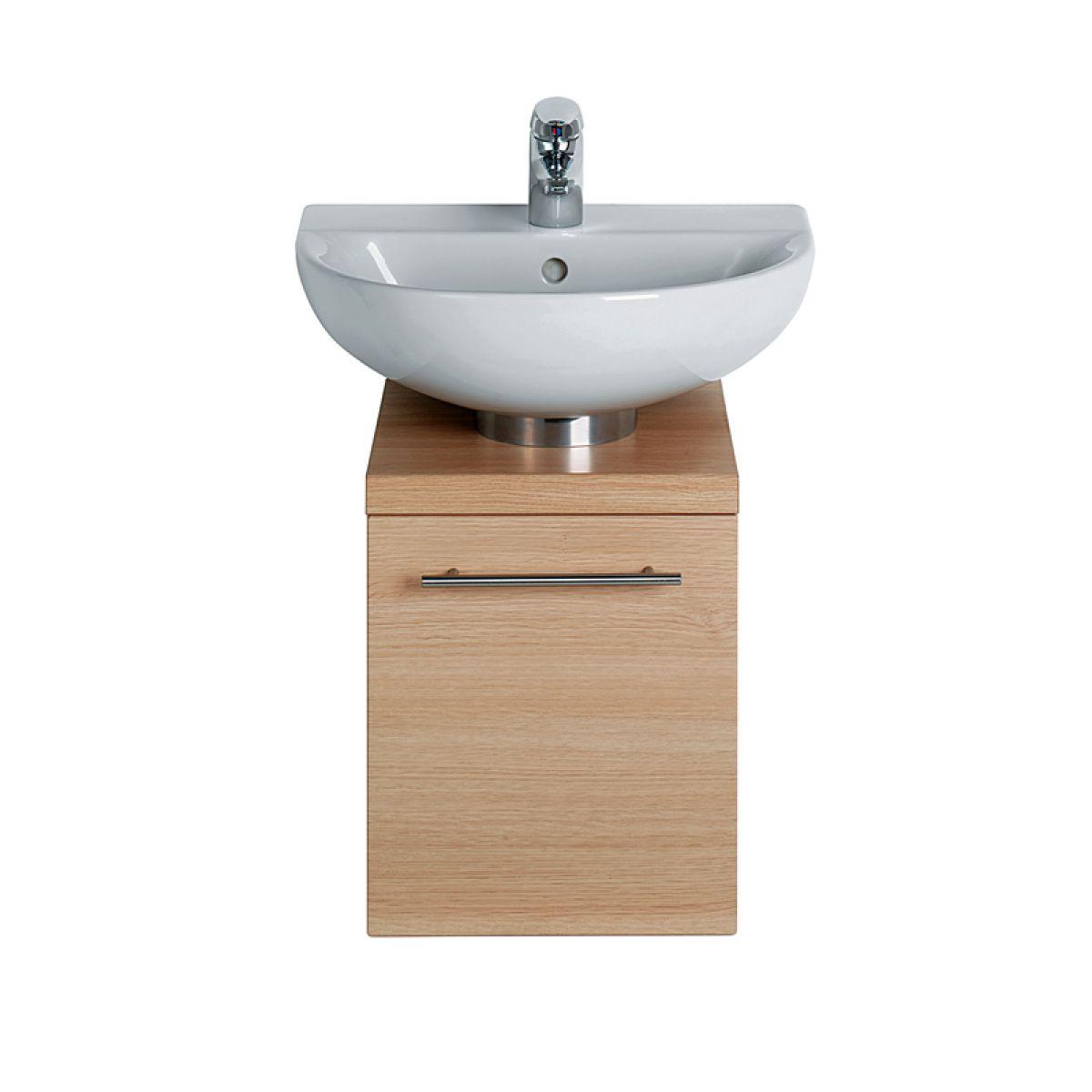 Pedestal Vanity Unit : Ideal Standard Create Furniture 3/4 Pedestal Unit : UK Bathrooms