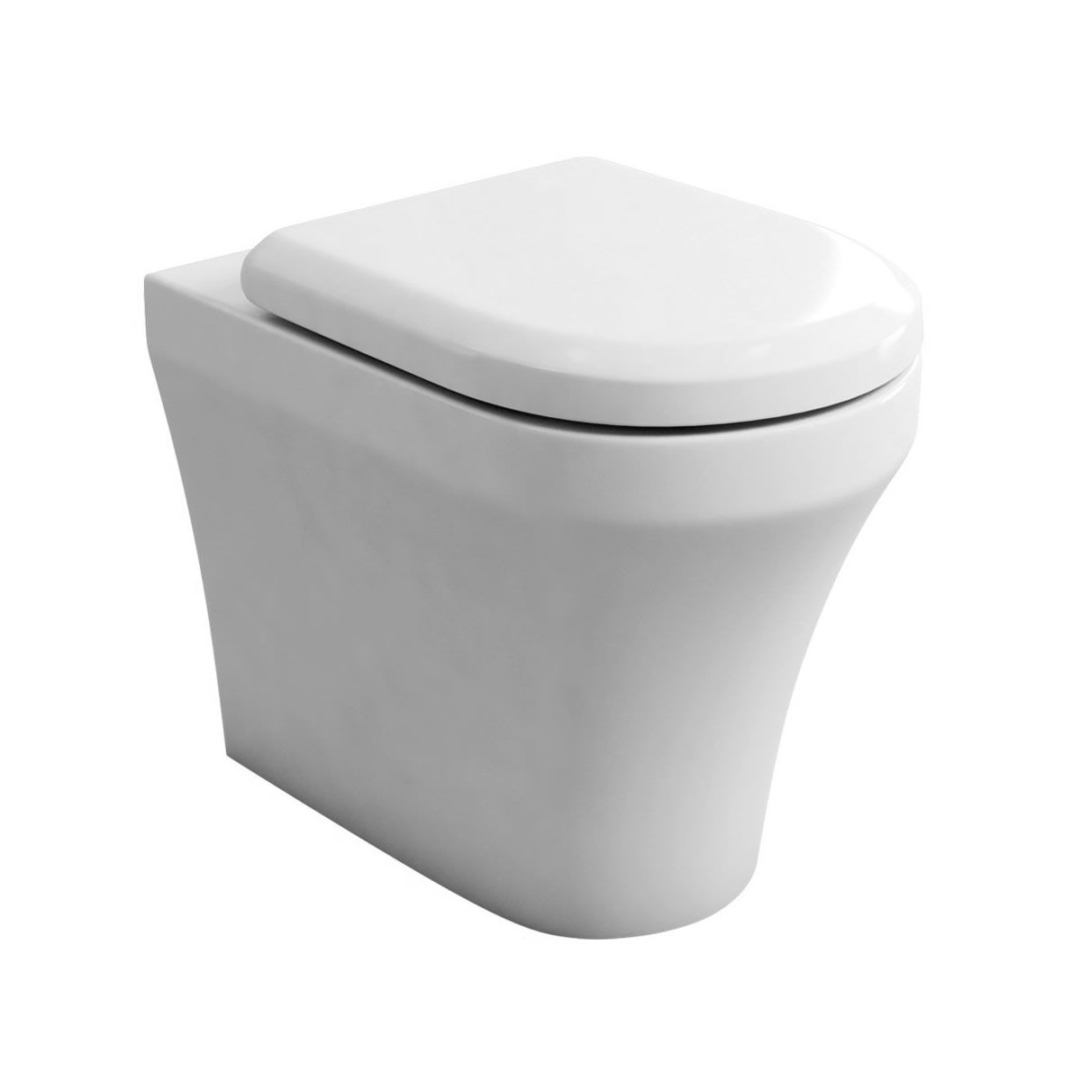 Britton Bathrooms Fine S40 Back To Wall Toilet Amp Seat Uk