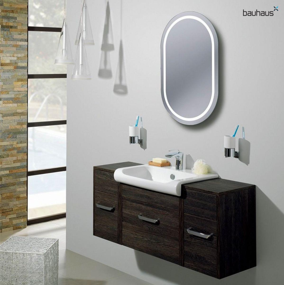 Bauhaus Essence Backlit Oval Mirror Uk Bathrooms