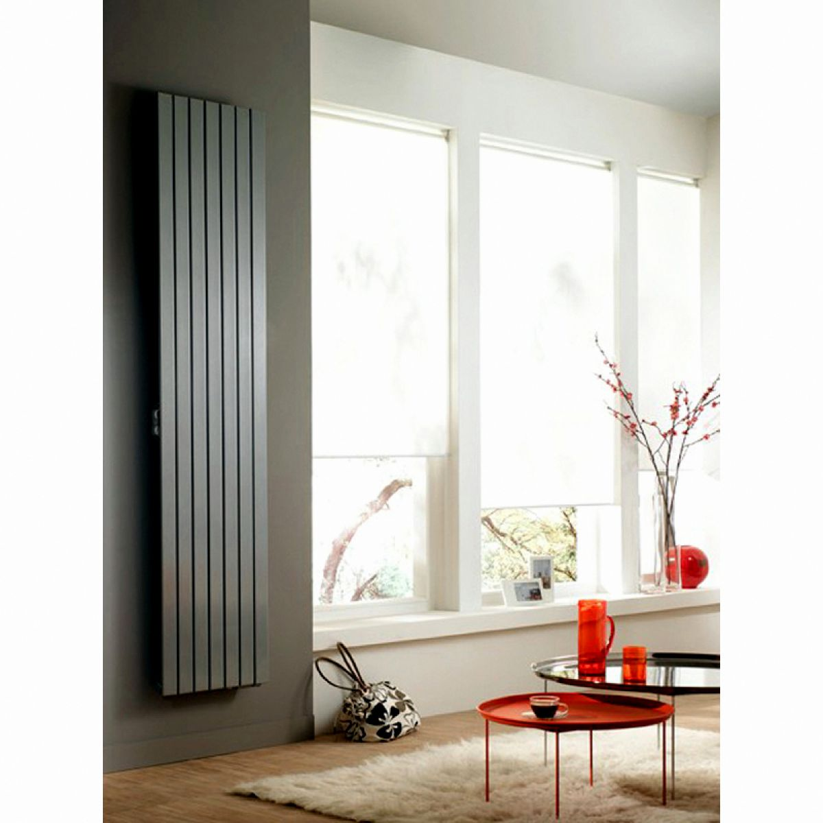zehnder roda vertical electric radiator uk bathrooms. Black Bedroom Furniture Sets. Home Design Ideas