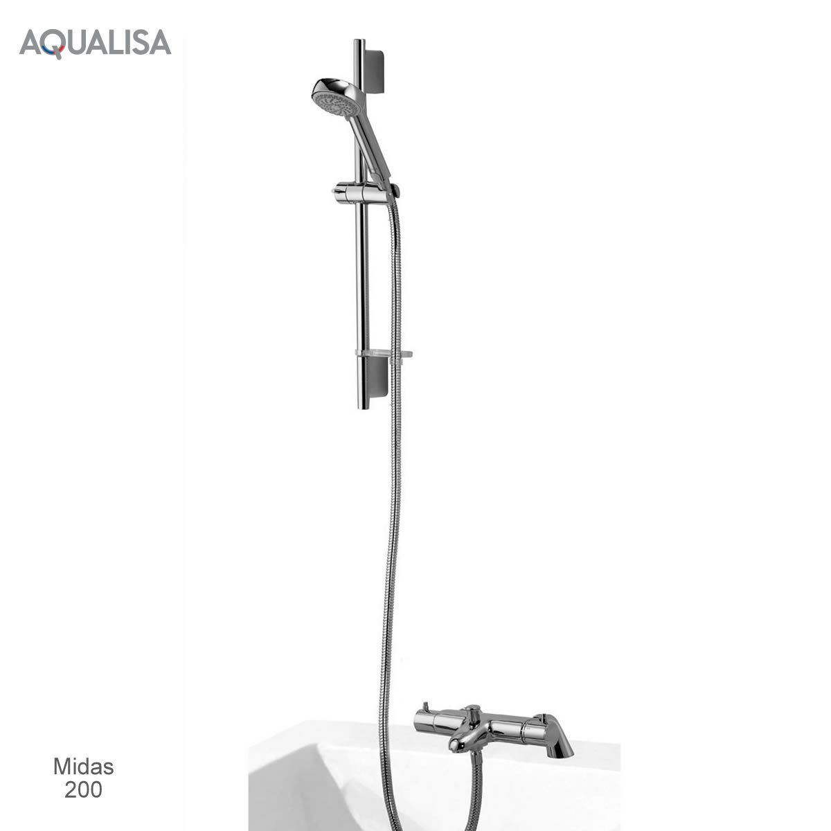 Aqualisa Midas Thermostatic Bath Shower Mixer Set Uk