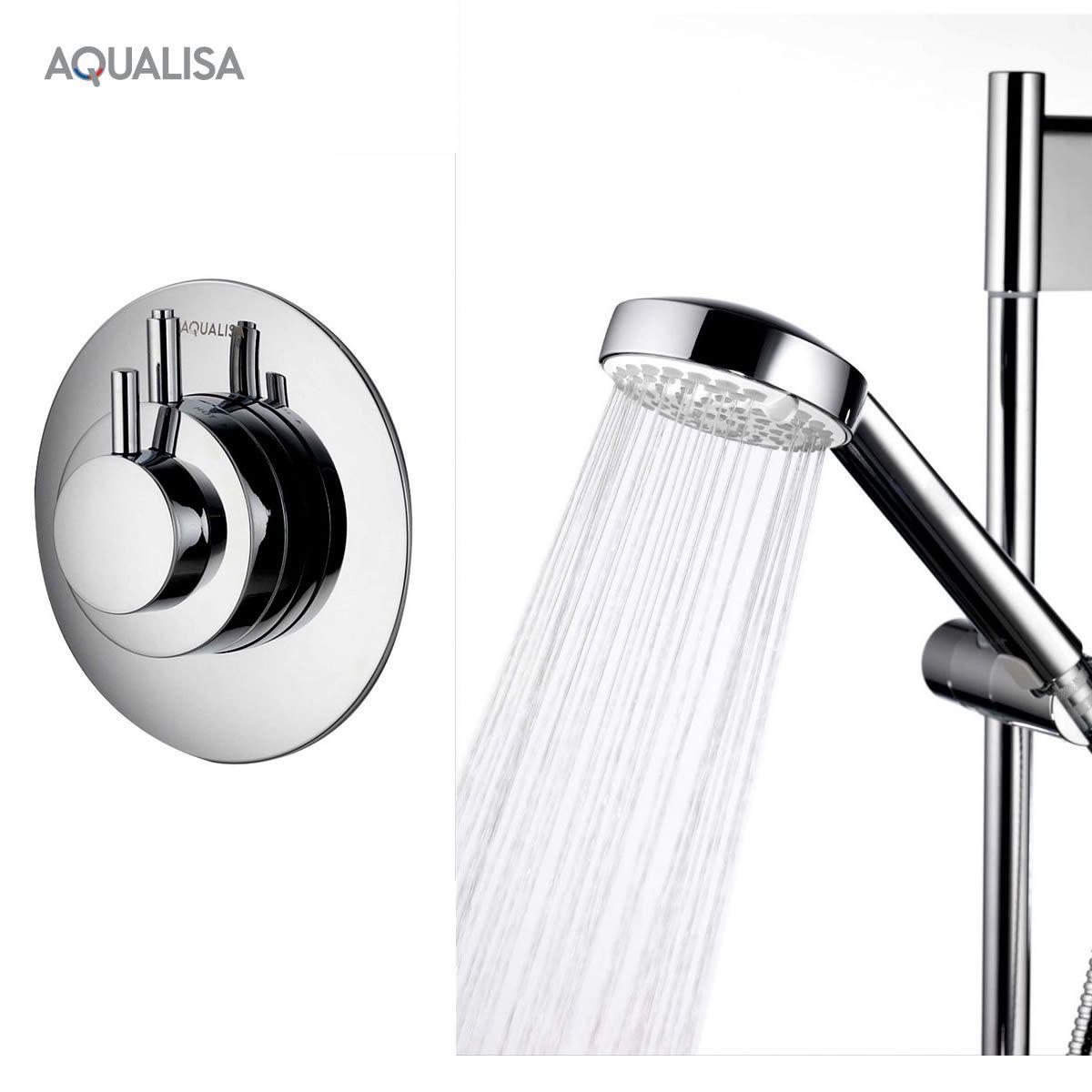 aqualisa dream concealed valve shower set uk bathrooms. Black Bedroom Furniture Sets. Home Design Ideas