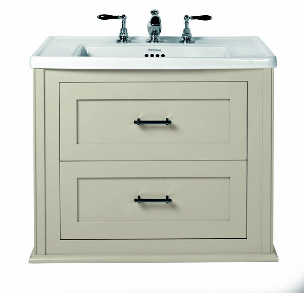 imperial radcliffe thurlestone wall hung vanity unit uk bathrooms
