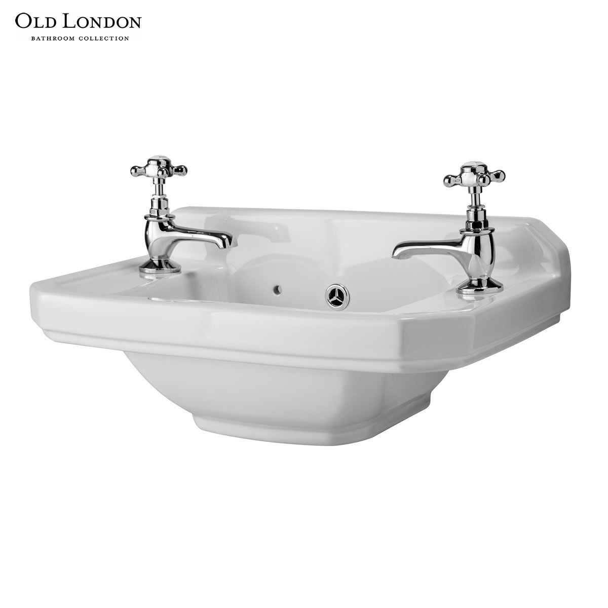 Old London Richmond 512mm Cloakroom Basin Uk Bathrooms
