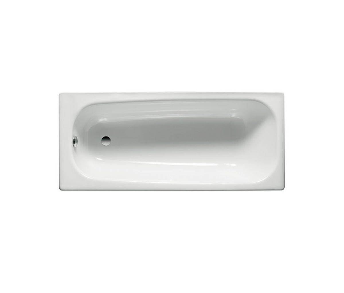 roca contesa standard steel bath uk bathrooms