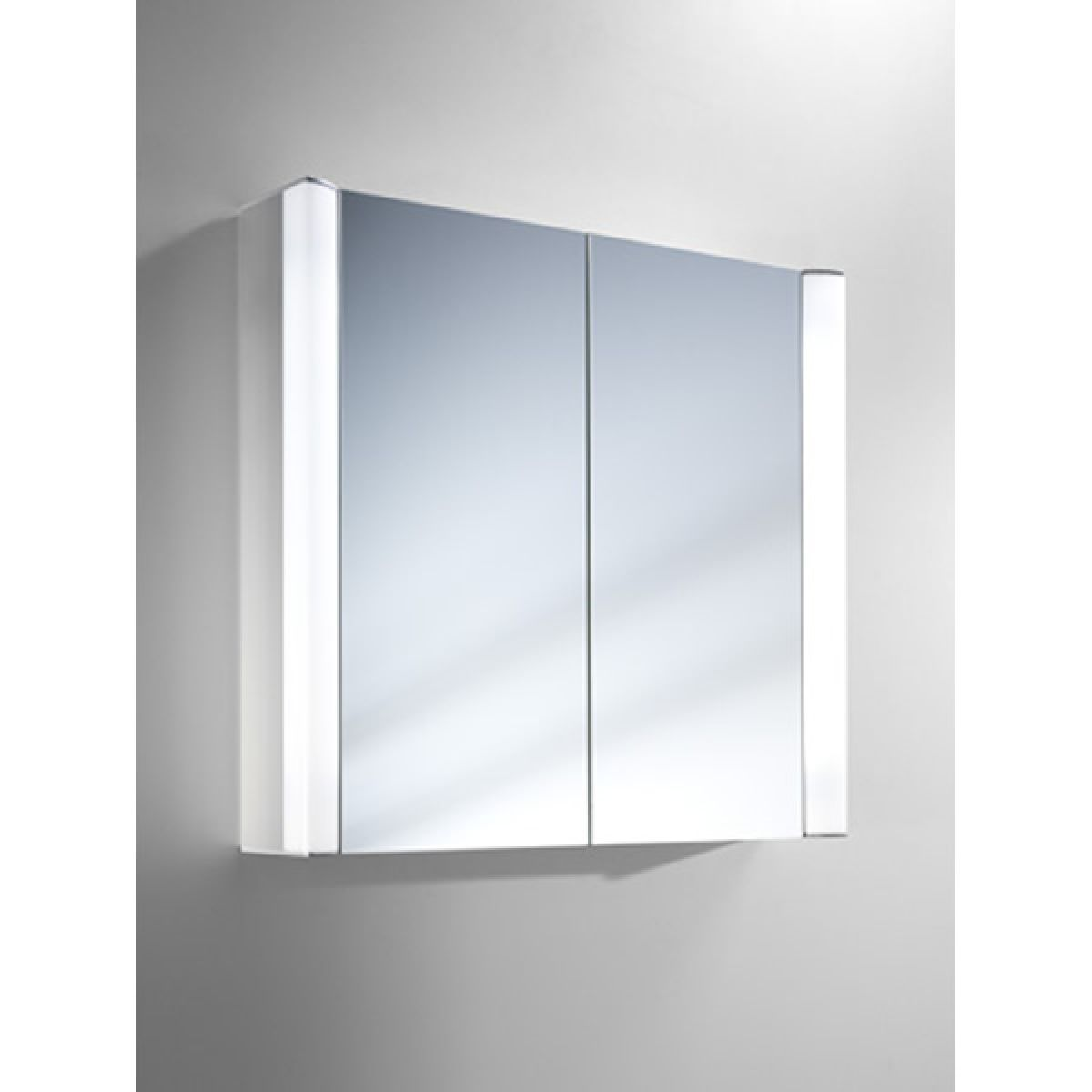 schneider moanaline 700mm illuminated bathroom cabinet uk bathrooms