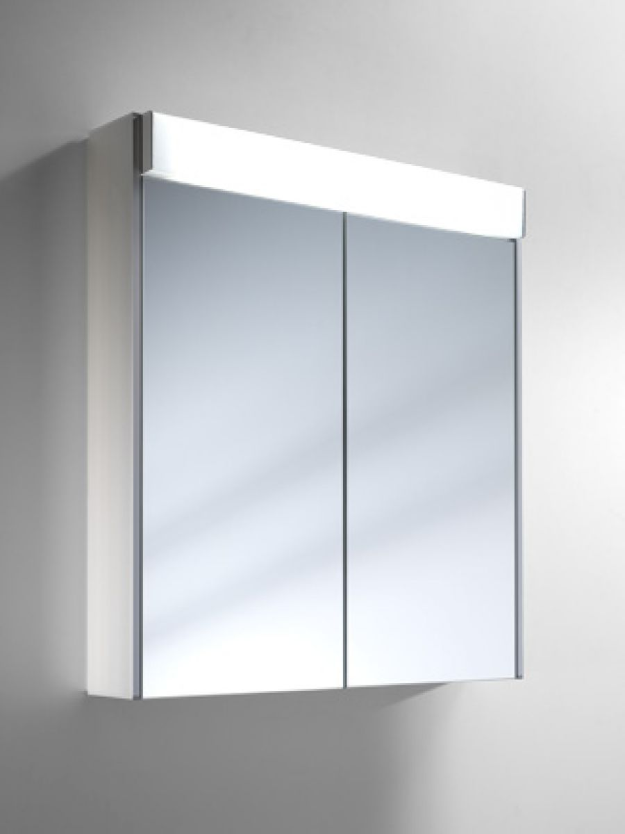schneider moanaline 1000mm bathroom cabinet with overhead light uk