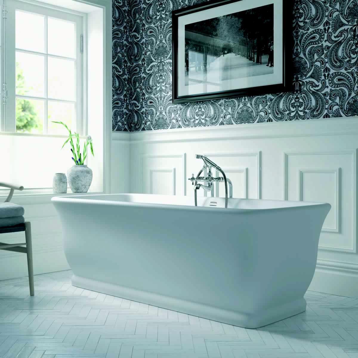 Imperial Mortlake Traditional Freestanding Bath : UK Bathrooms