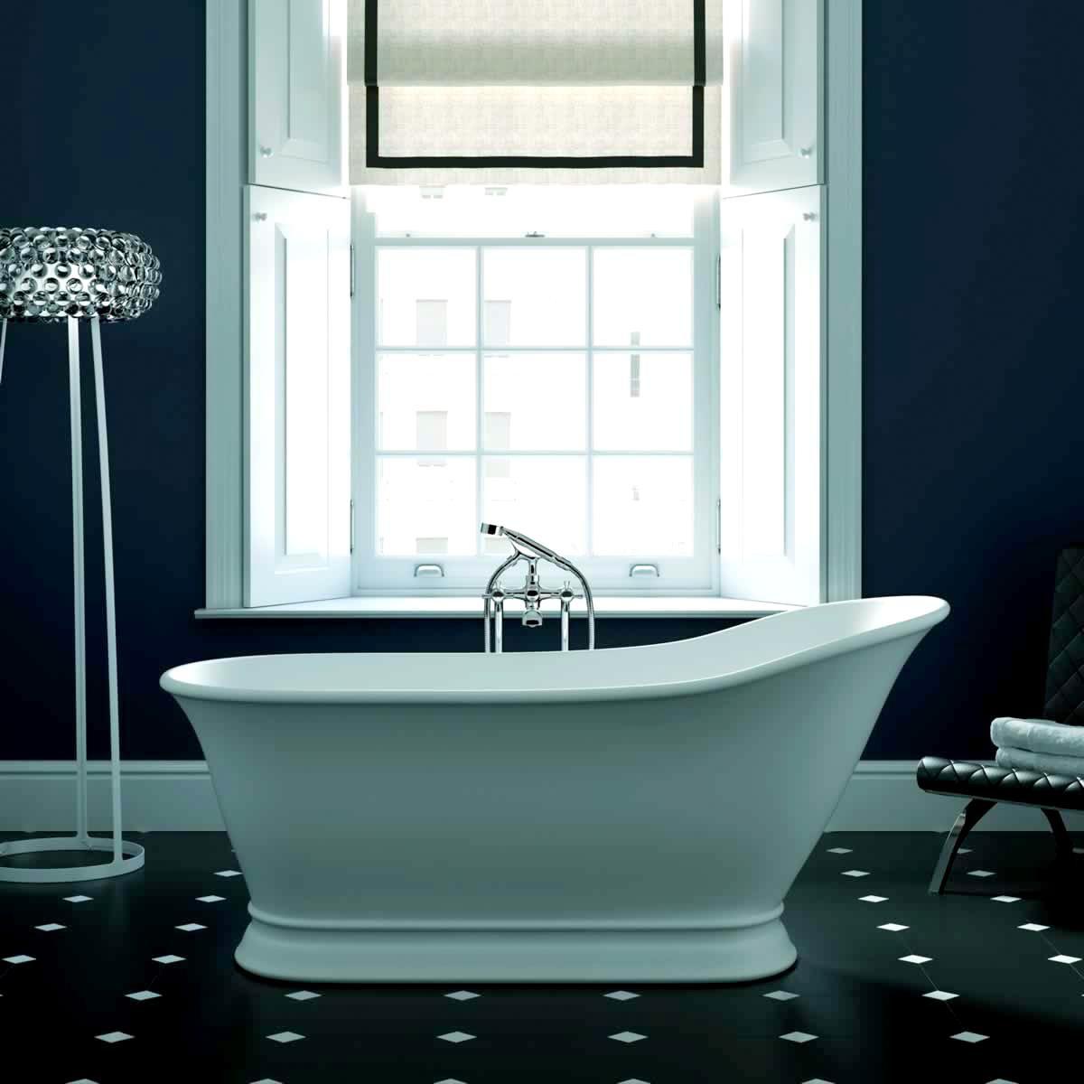 Imperial Hampton Freestanding Slipper Bath : UK Bathrooms