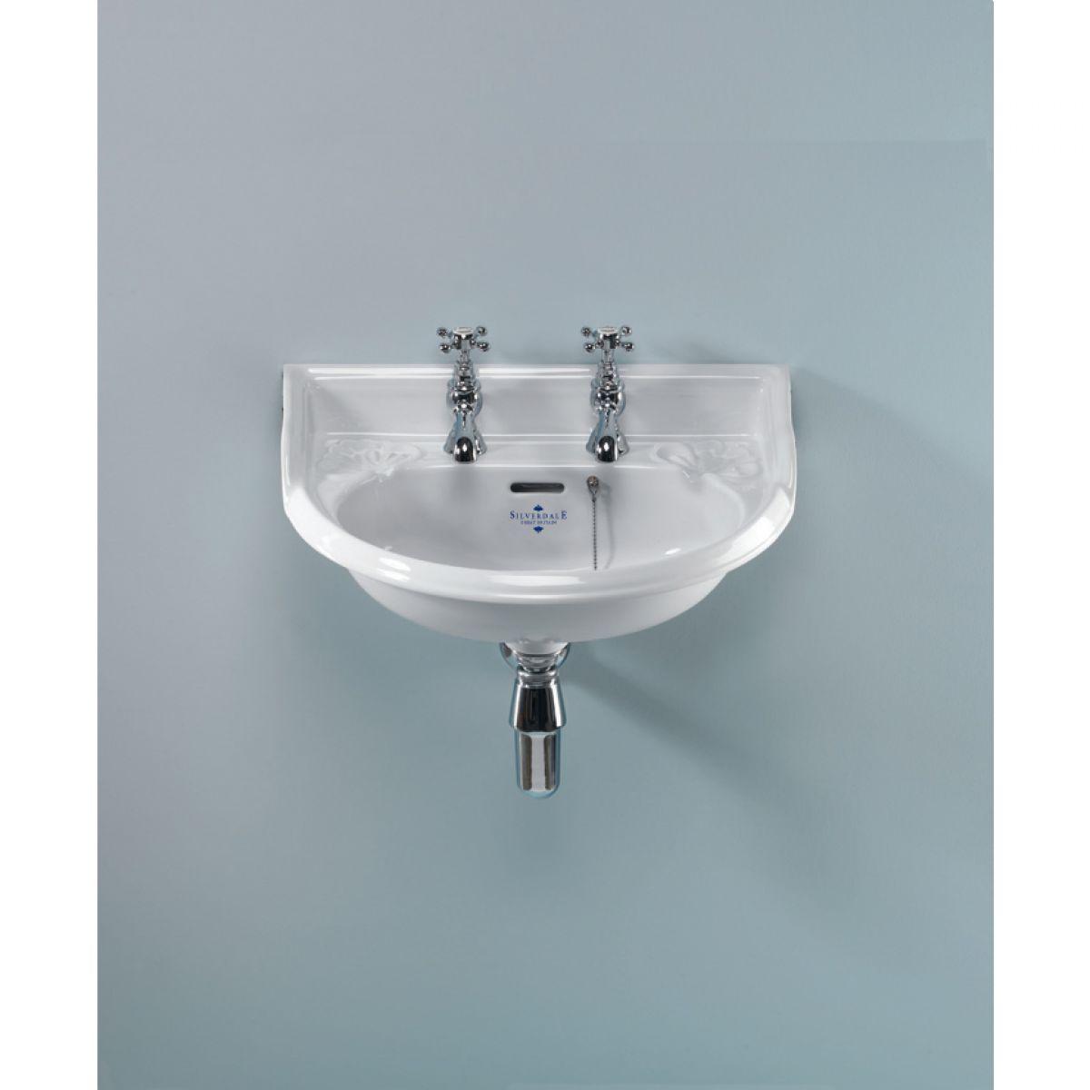 Silverdale victorian cloakroom basin uk bathrooms for Bathroom basin