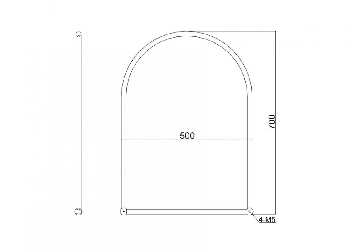 burlington bathroom mirror burlington arched framed mirror uk bathrooms 12208