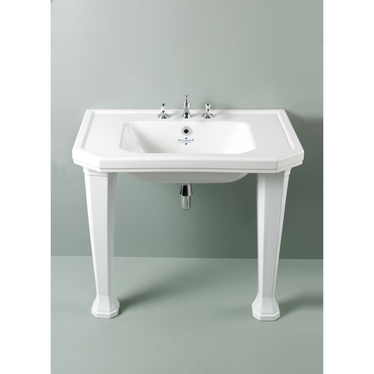 traditional bathroom mirror basin - photo #43