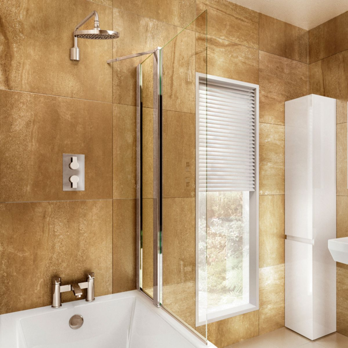 Image Of Baths With Shower Screen Bath shower screens our pick of ...