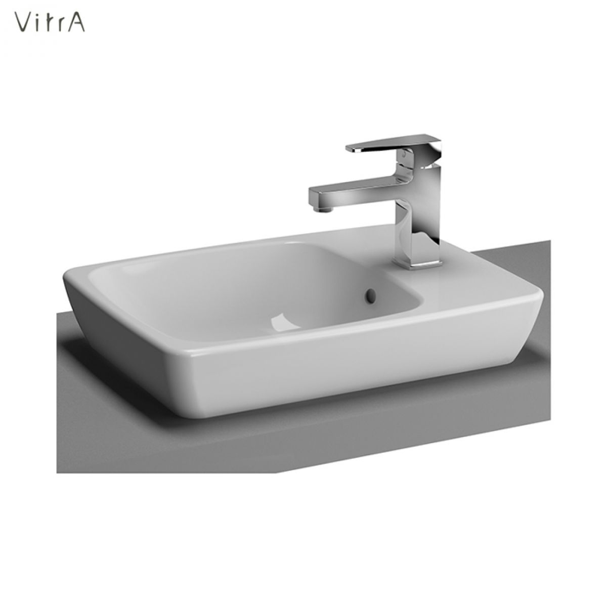 vitra m line compact countertop basin uk bathrooms. Black Bedroom Furniture Sets. Home Design Ideas