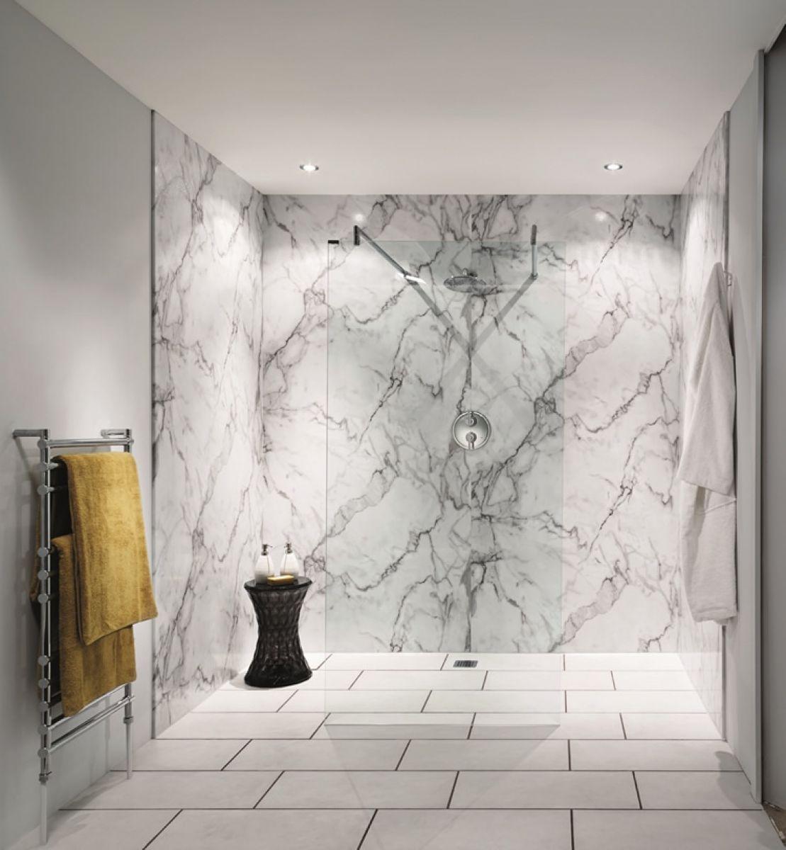 Bushboard Nuance Recess Shower Board Pack 2400mm : UK Bathrooms