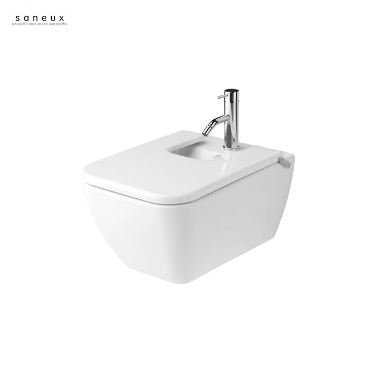 Saneux Project Wall Hung Bidet : UK Bathrooms