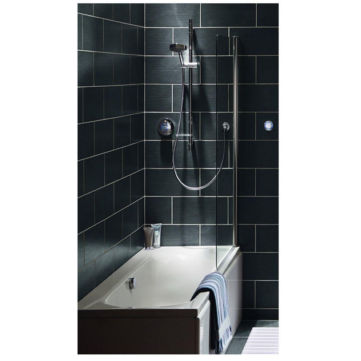 aqualisa rise concealed shower valve and diverter with. Black Bedroom Furniture Sets. Home Design Ideas