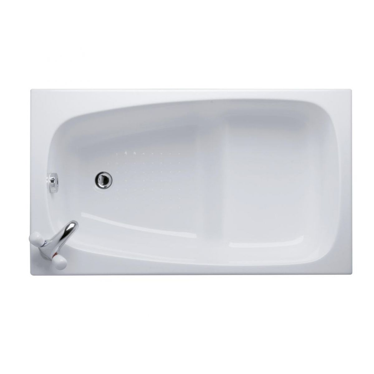 Compact Bath ideal standard space 1200 x 700mm compact bath : uk bathrooms
