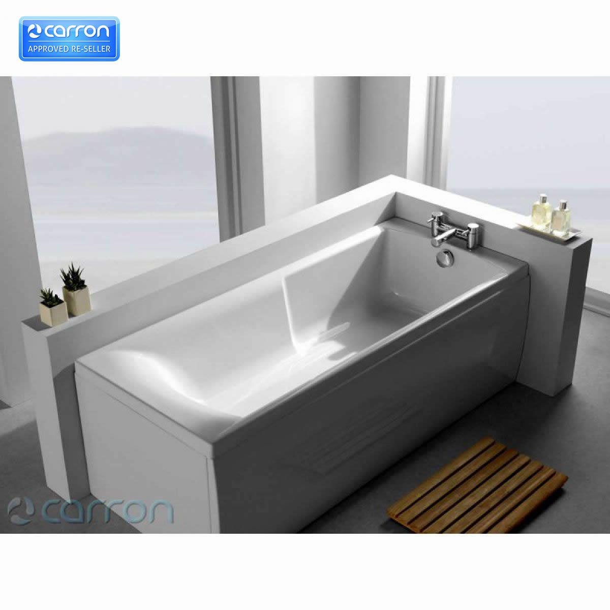 Carron Index 1700 X 750mm Showerbath : UK Bathrooms