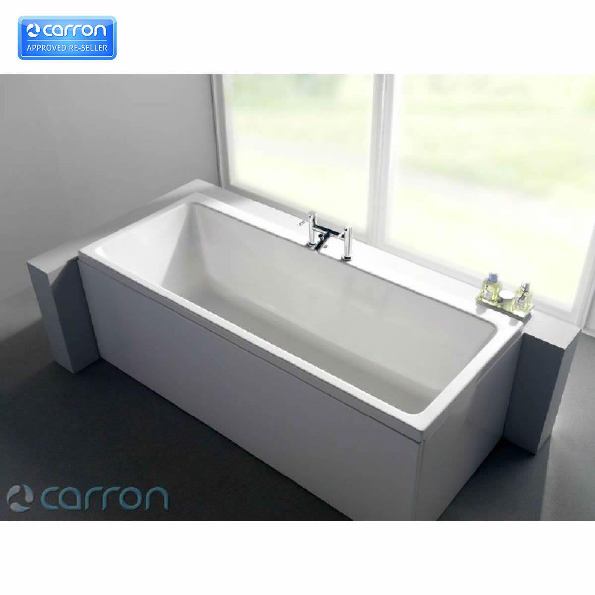 Carron quantum double ended bath uk bathrooms for Bath 1200