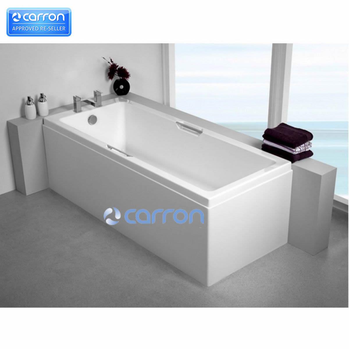 Carron Quantum Integra Bath With Twin Grips Uk Bathrooms