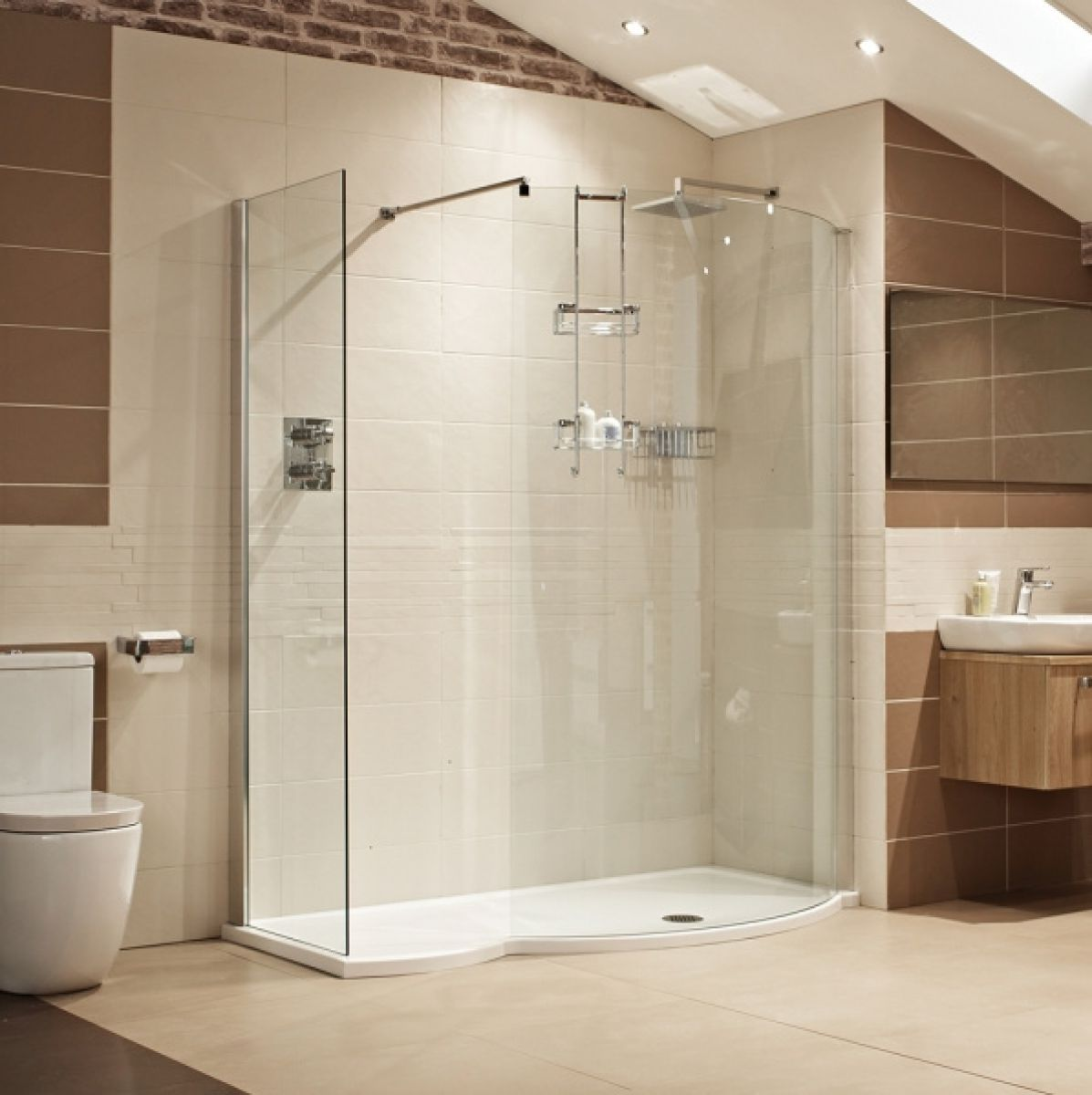 Roman Lumin8 Colossus 1700mm Shower Enclosure Uk Bathrooms