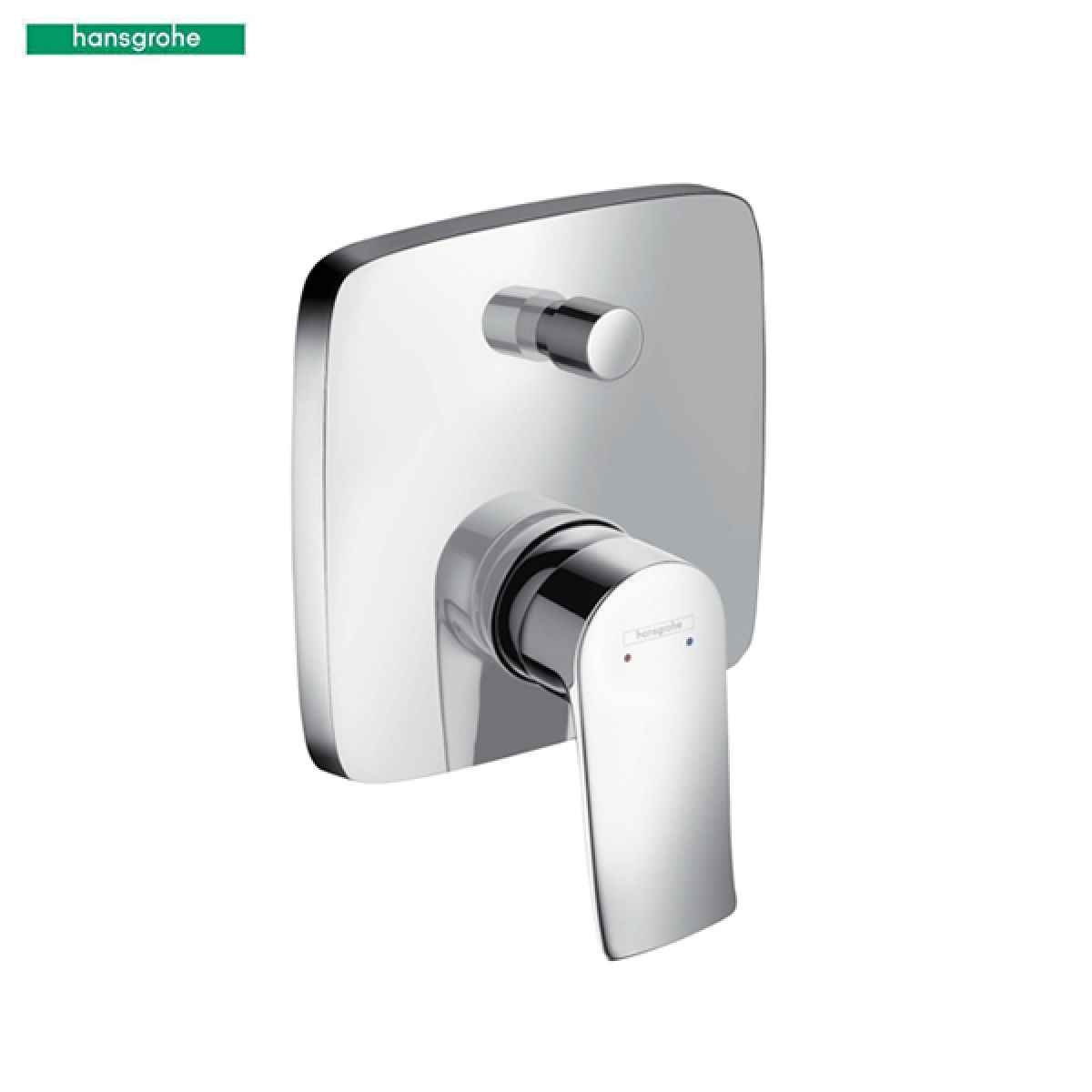 hansgrohe metris concealed single lever bath mixer uk bathrooms. Black Bedroom Furniture Sets. Home Design Ideas