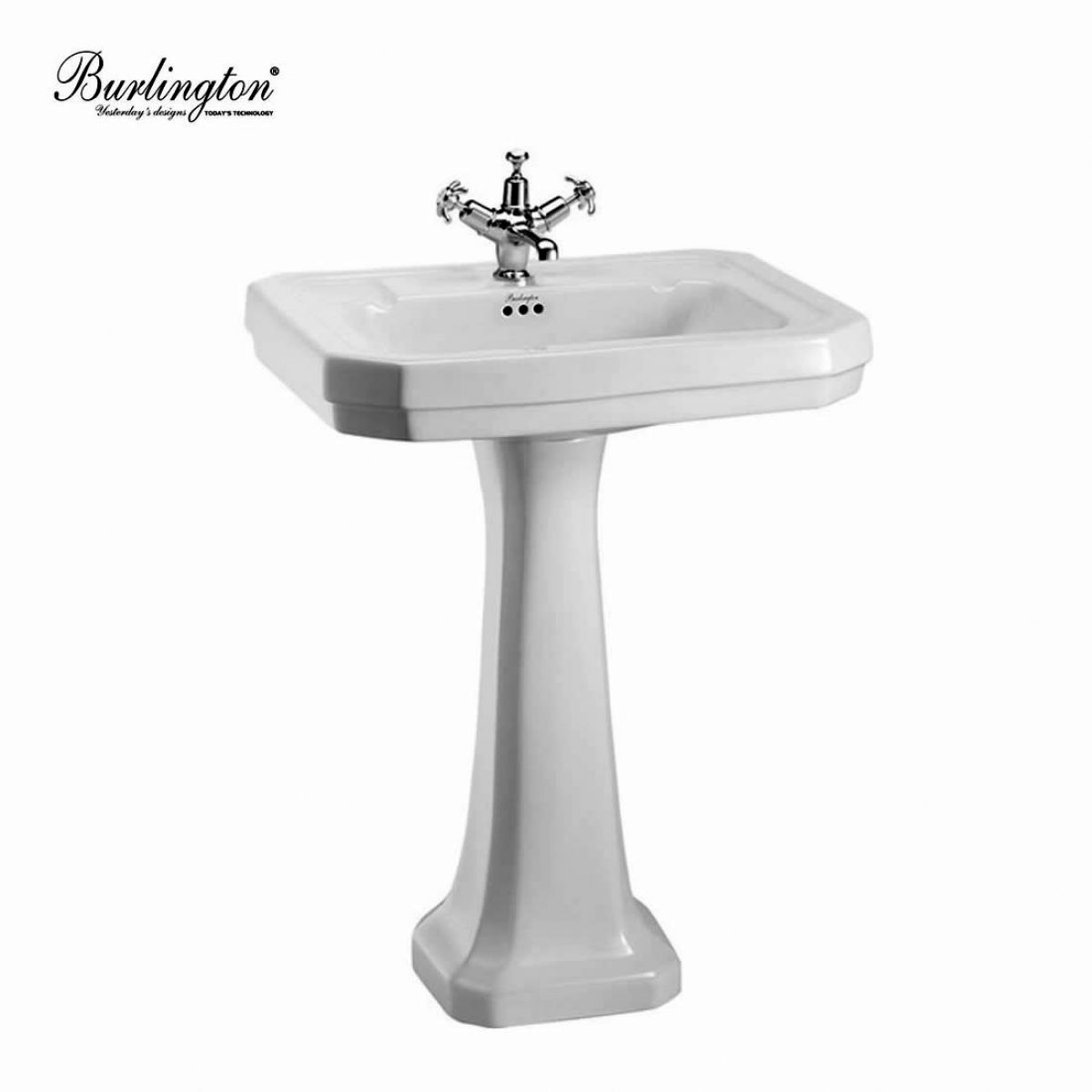 victorian large basin and pedestal home bathrooms basins and sinks ...