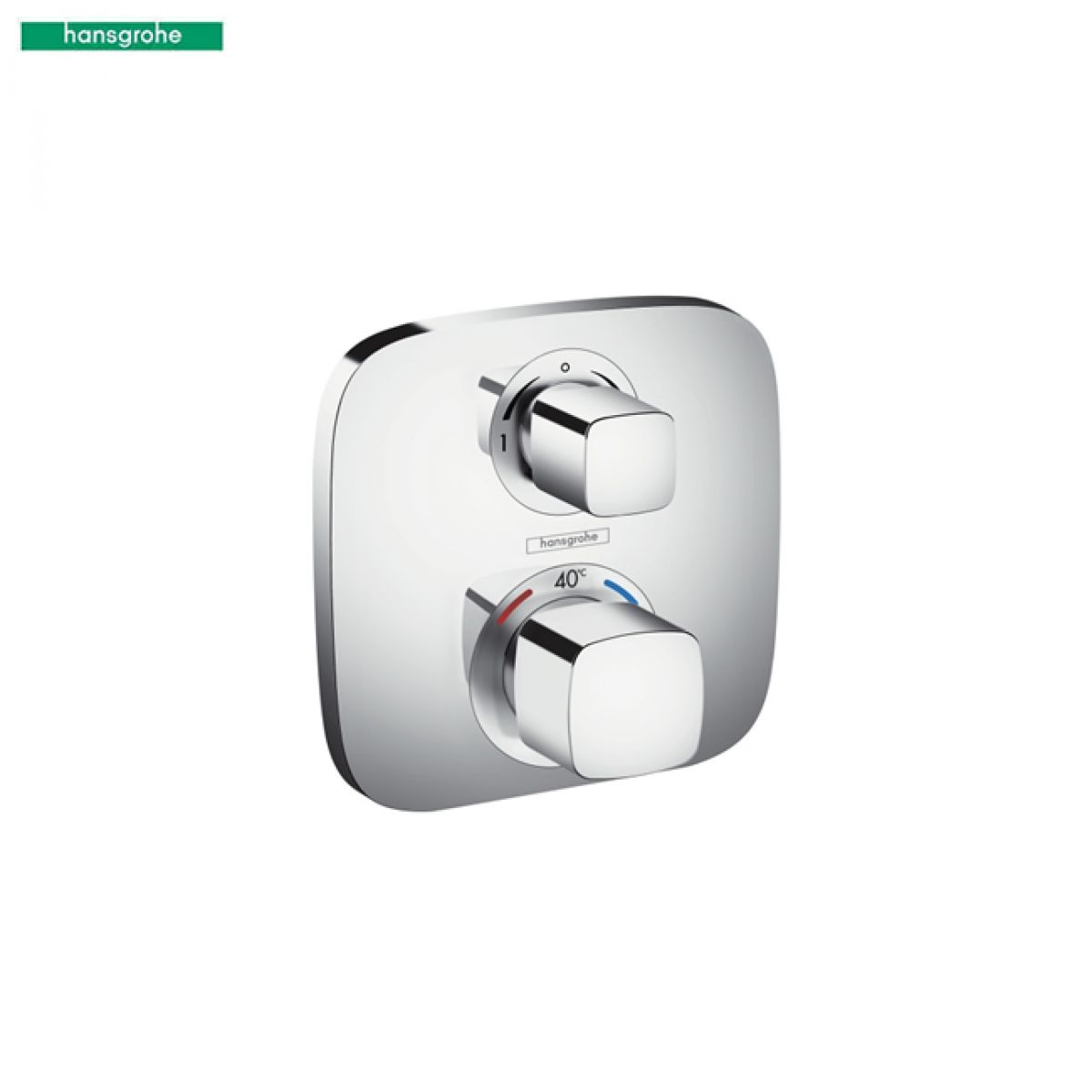 hansgrohe ecostat e shower valve with shut off