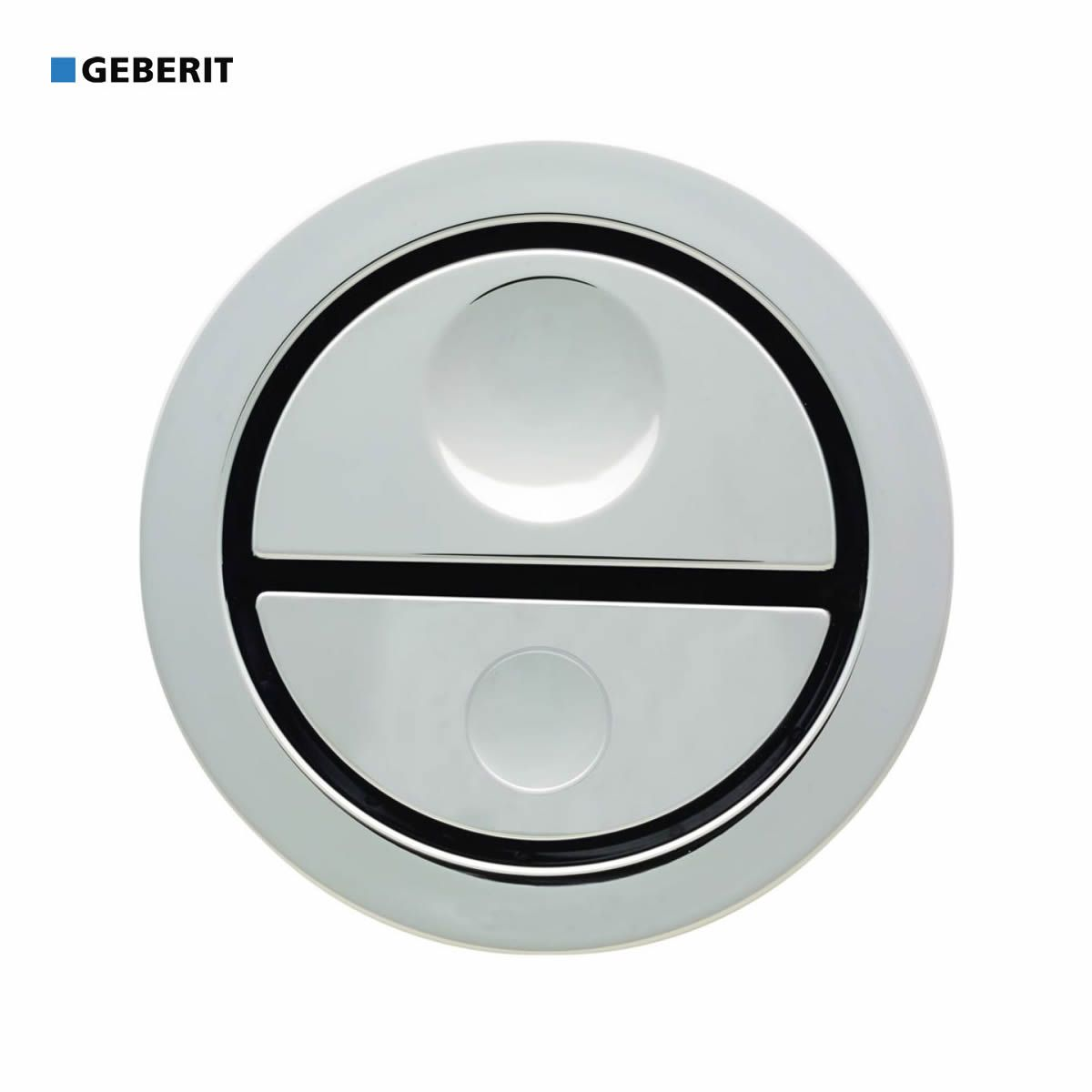 geberit dual flush pneumatic finger push button uk bathrooms. Black Bedroom Furniture Sets. Home Design Ideas