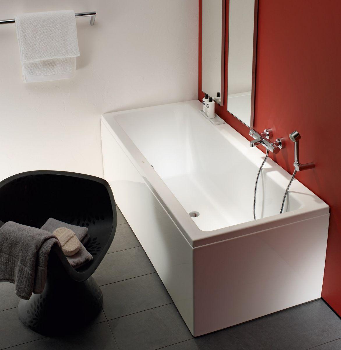 Laufen PRO Large Double Ended Bath Tub : UK Bathrooms