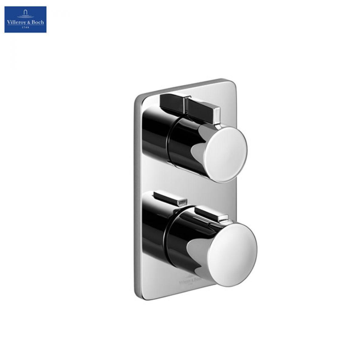 villeroy and boch cult concealed thermostatic shower valve uk bathrooms. Black Bedroom Furniture Sets. Home Design Ideas