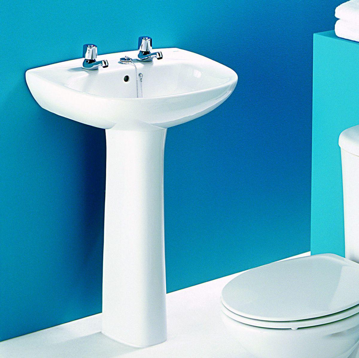 Roca Polo 560mm Handwash Basin Uk Bathrooms