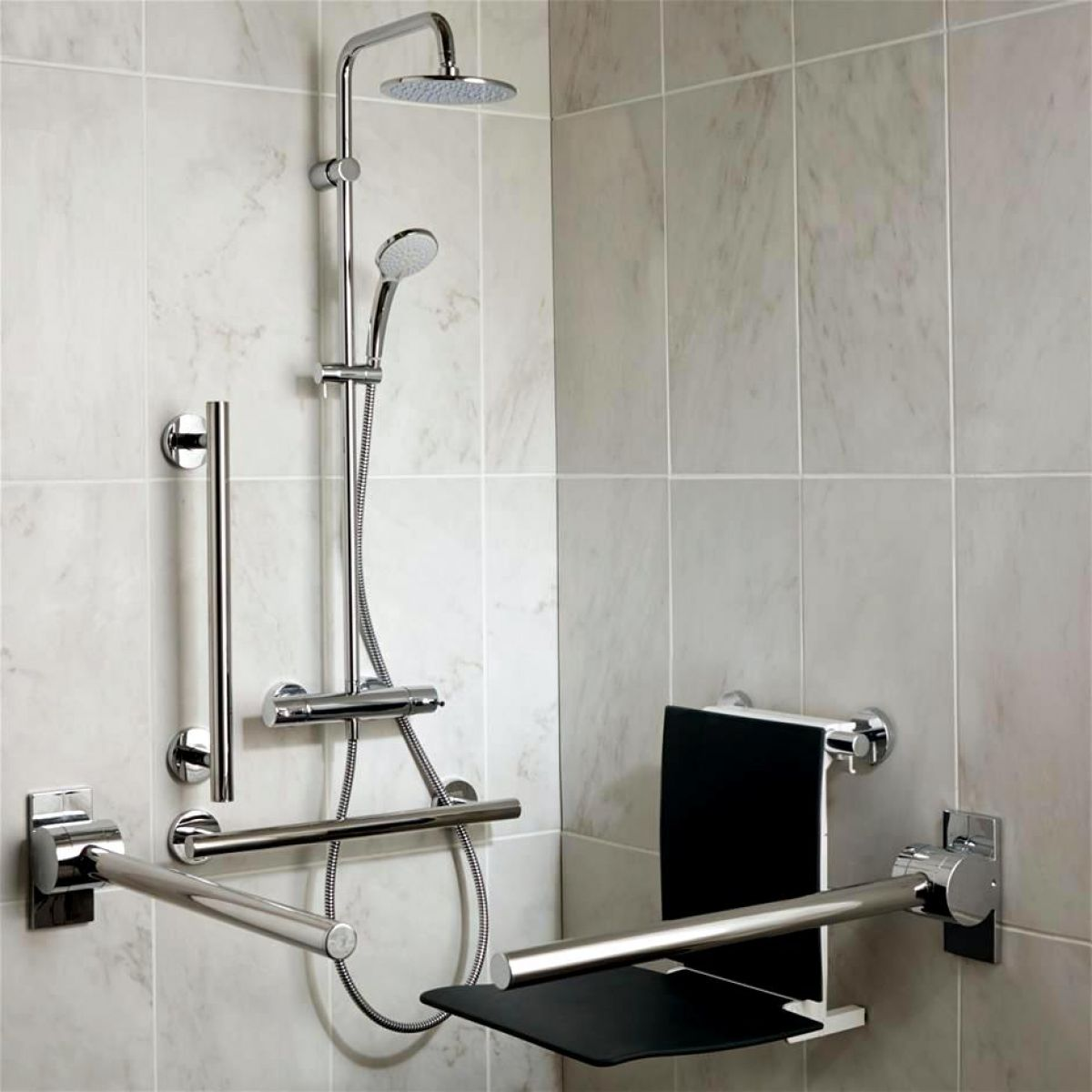 ideal standard concept freedom shower pack uk bathrooms. Black Bedroom Furniture Sets. Home Design Ideas