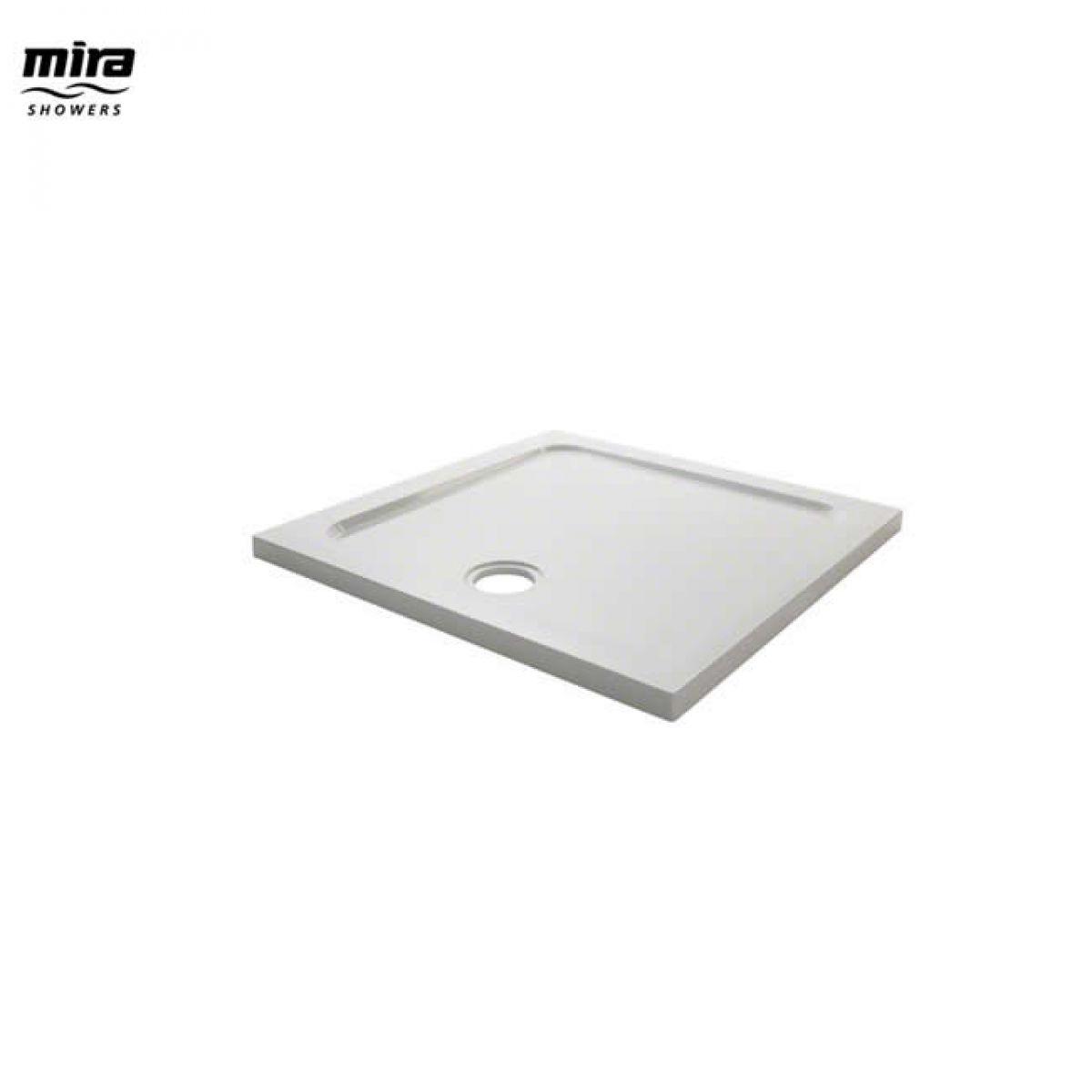 Mira Flight Safe Antislip Square Shower Tray
