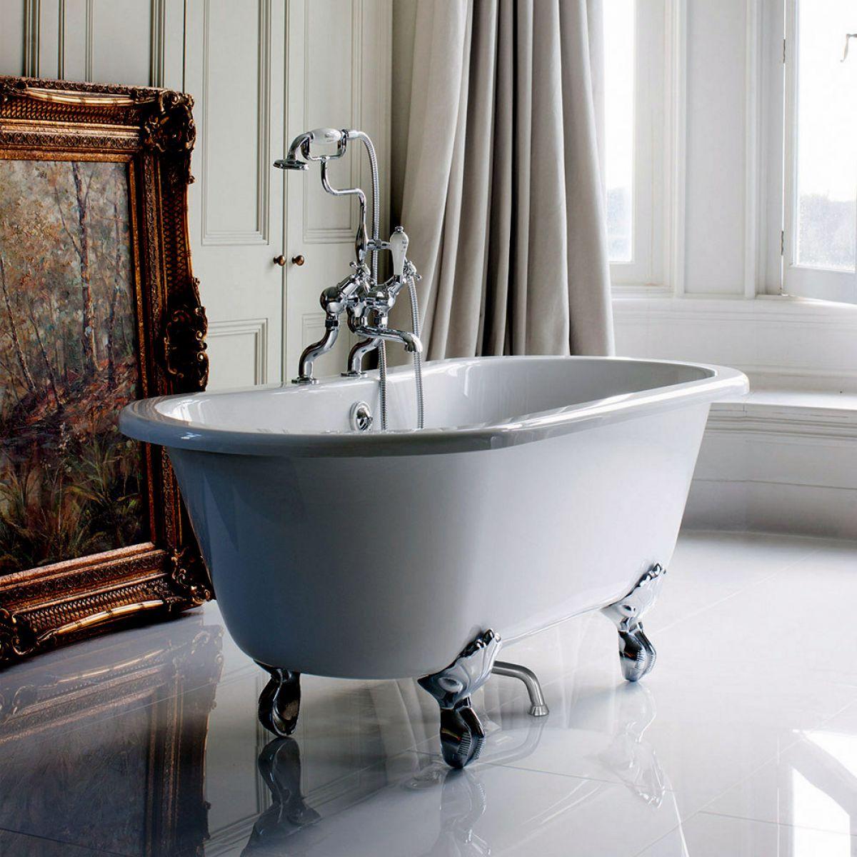 Burlington Windsor Double Ended Bath : UK Bathrooms