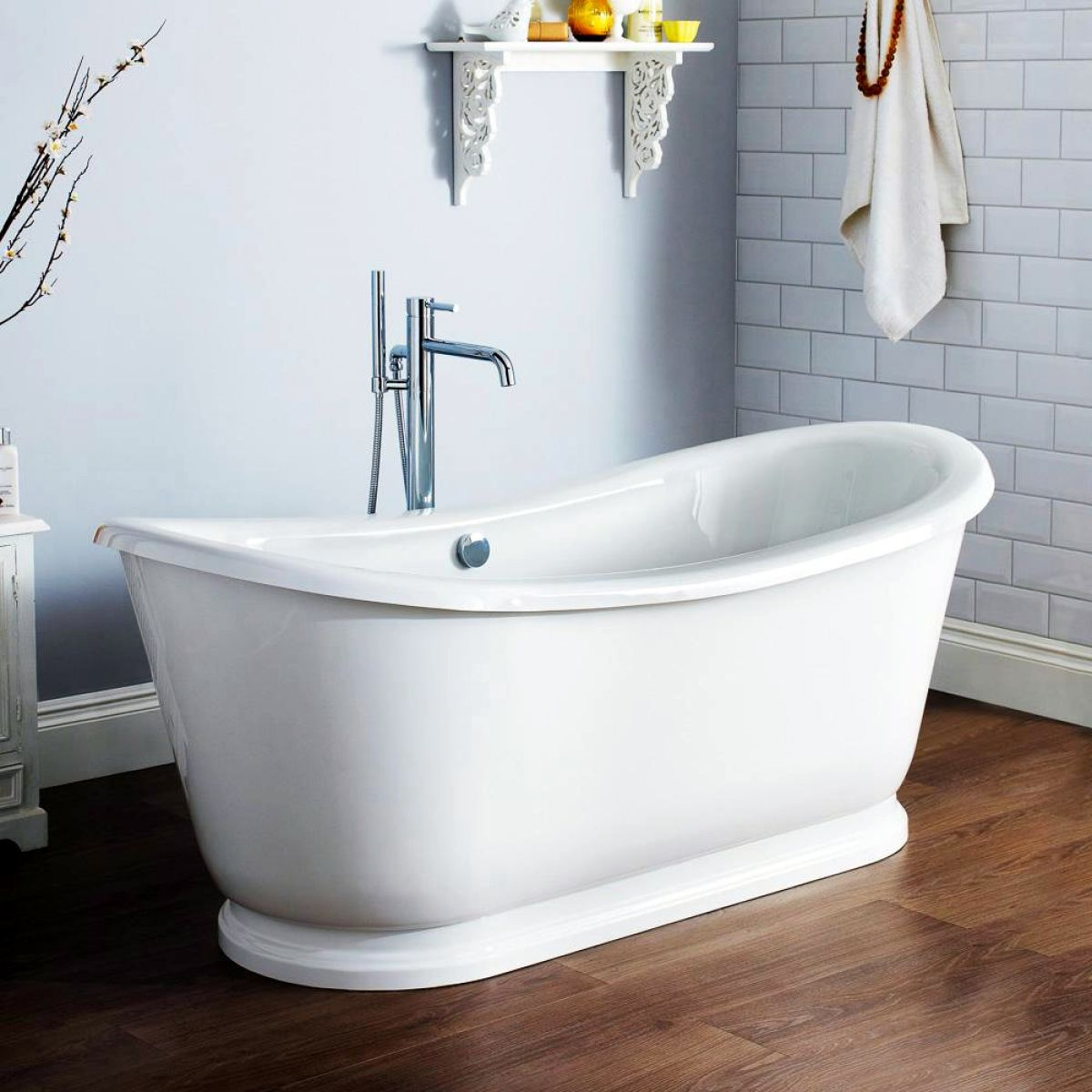 Burlington Admiral Traditional Freestanding Bath Uk Bathrooms