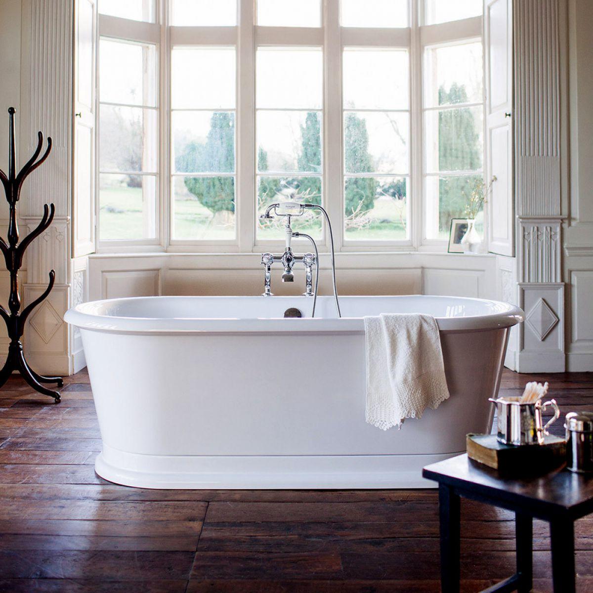 Burlington London Round Soaking Bath Tub : UK Bathrooms