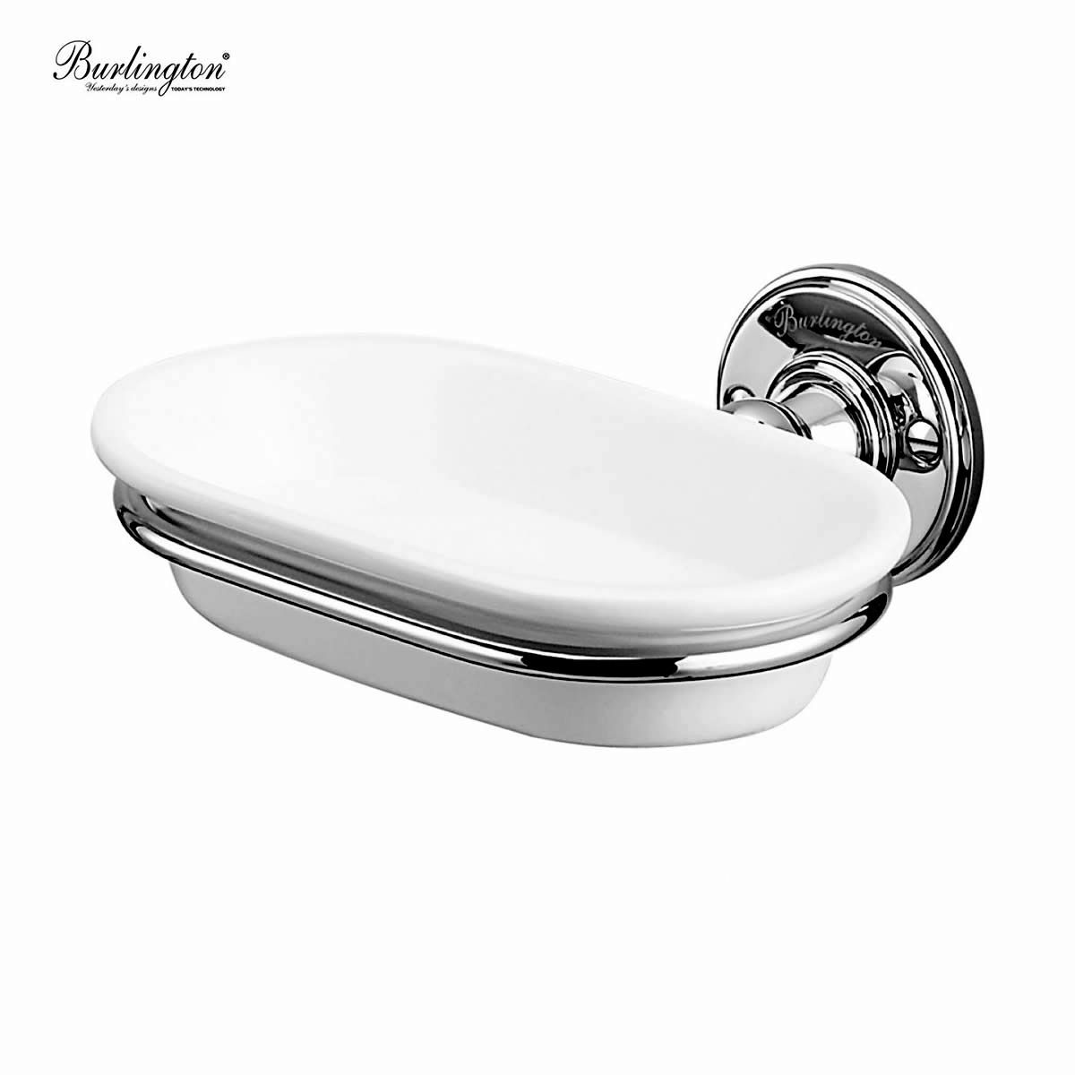 Burlington wall mounted soap dish uk bathrooms for Wall mounted soap dishes for bathrooms