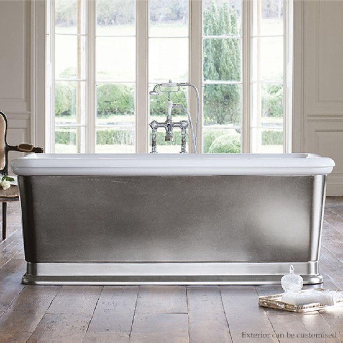 Burlington London Rectangle Soaking Bath Tub UK Bathrooms
