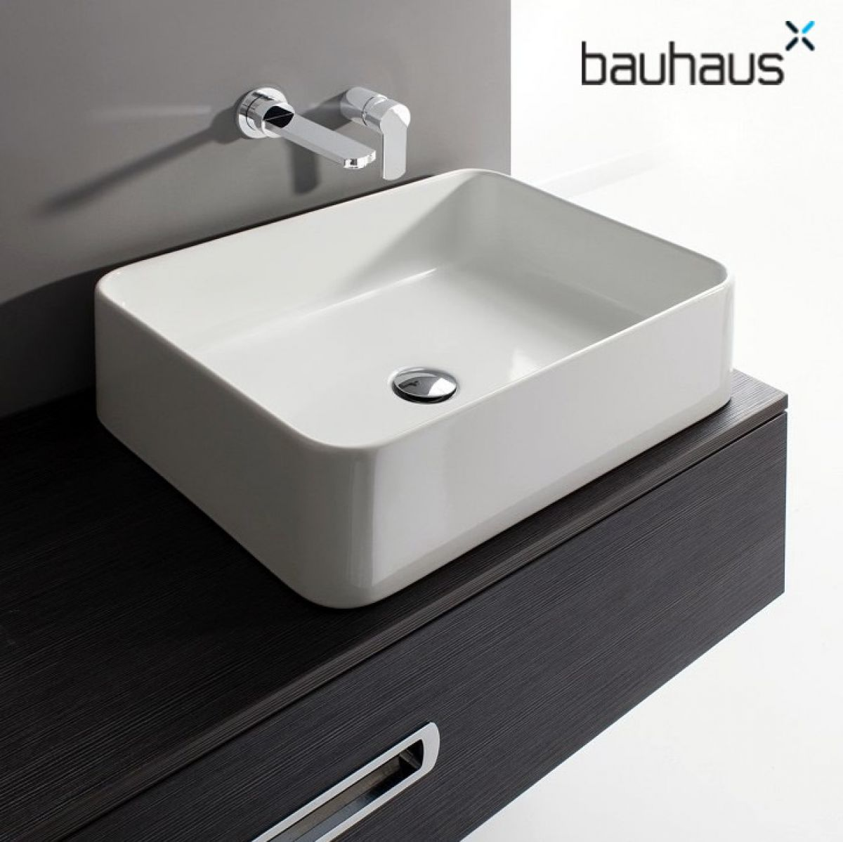 bauhaus santa fe countertop basin uk bathrooms. Black Bedroom Furniture Sets. Home Design Ideas